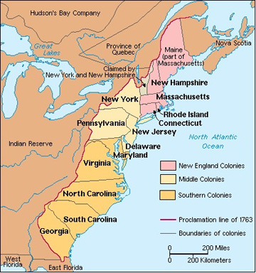 an introduction to the history of english colonies in america History of british colonial america including virginia, pilgrim fathers, massachusetts and new england, dutch in america, proprietary colonies, pennsylvania, albany.