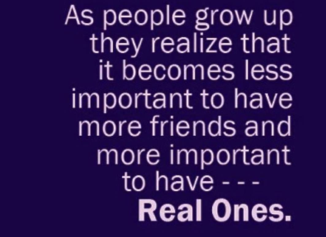 As People Grow