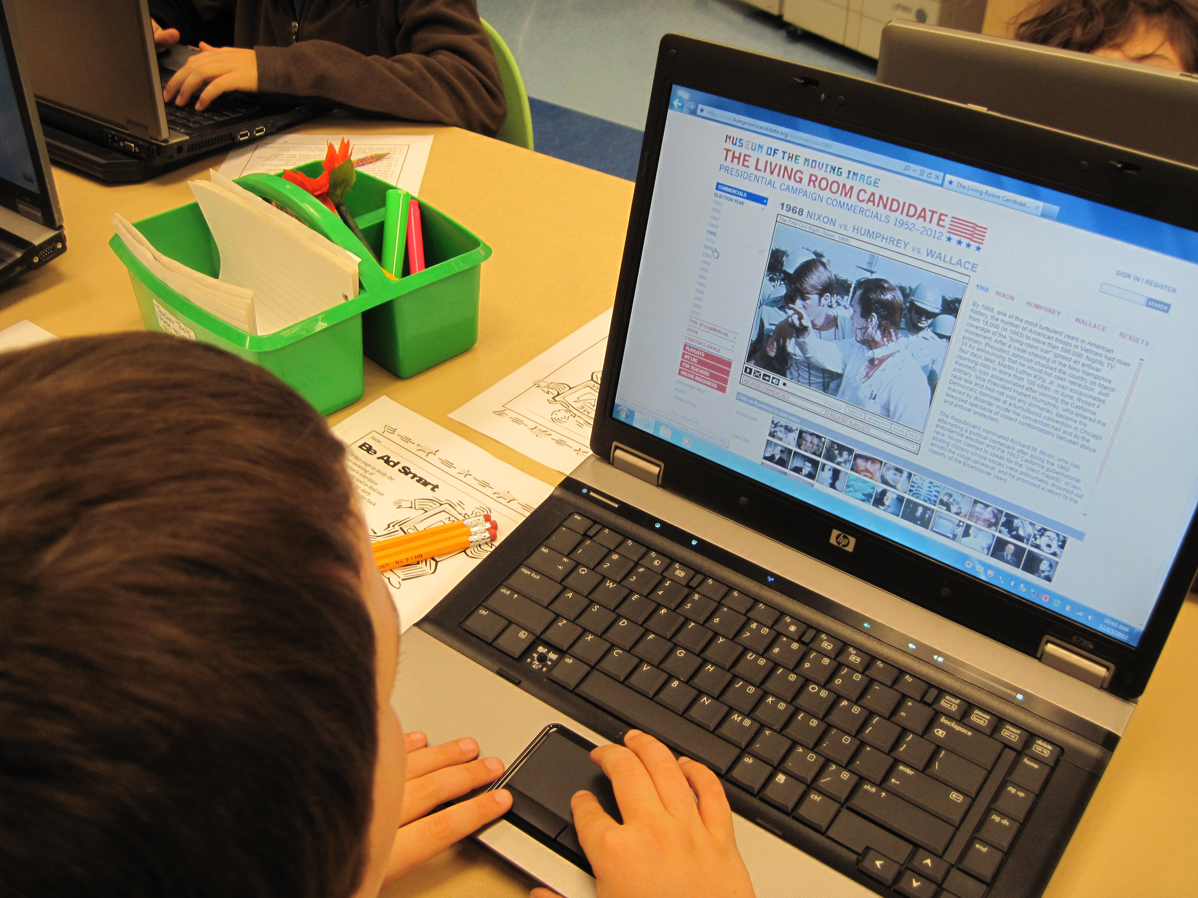 student analyze political advertisements mrs. plasencia, grt