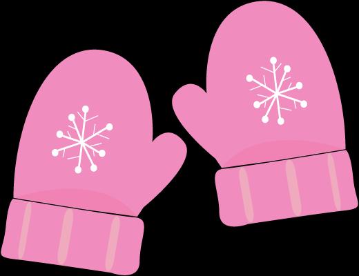 mittens-pink