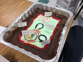 Winner of the most creative plant cell!
