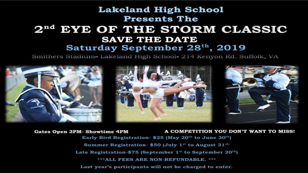 Eye of the Storm Classic Save the Date